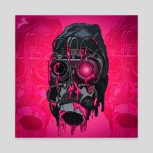 Bio-hazard  - Canvas by BlackRabbit Skinny