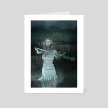 Lady of The Lake - Art Card by Dani Art