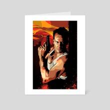 Die Hard 1 - Art Card by Nikita Abakumov
