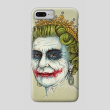 God Save the Villain II - Phone Case by Enkel Dika