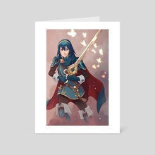 Lucina - Art Card by Amy Gerardy