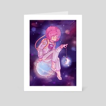 Space Holder - Art Card by Elena Resko
