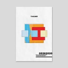 """Theory"" - Acrylic by Kenneth Thomas"