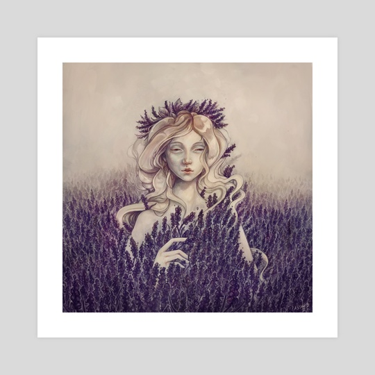 Lavender by Sylvia  Strijk