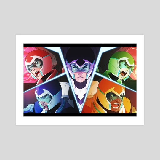 VOLTRON by Noisyghost