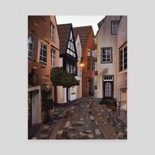 Bremen, Germany - Canvas by Jean-Ellis Gbessia