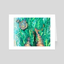 Seagrass - Art Card by Mira Norian