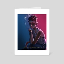 Prove Yourself To Yourself - Art Card by Ryan Adriano