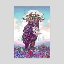 Journeying Spirit (Owl) - Canvas by Mat Miller