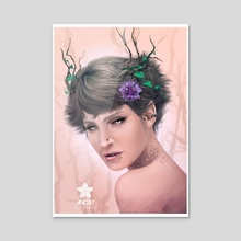 Elfa - Acrylic by Paolo Andrey