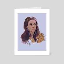 Bella Swan - Art Card by Darkellaine