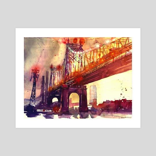 Queensboro Bridge by Maja Wrońska
