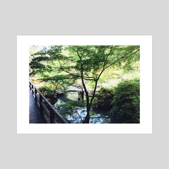 Japanese Garden by Liora Bronshtein