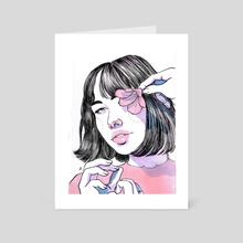 Hana - Art Card by Leila Melendez