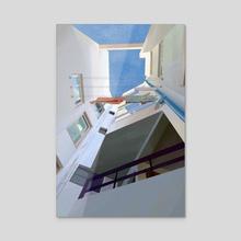 Interior - Acrylic by Eduardo López Franquis