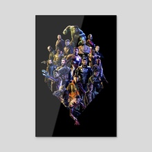 Avengers - Acrylic by Sceptre