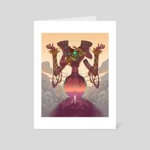 Gateway - Art Card by Robbie Trevino