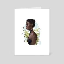 Versace Dress. - Art Card by Chantel Fugere