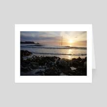seaweed sunset - Art Card by Bekka