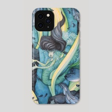 First-born Merrow of the Deep - Phone Case by Tiffany England