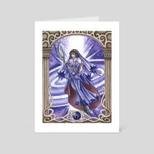 Sailor Saturn - Art Card by Fanciful Dewdrop