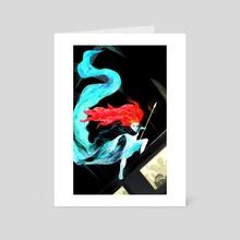 Boadecia - Art Card by Carly A-F