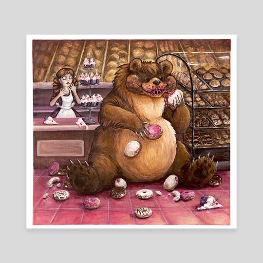 Bear in the Bakery by Stephanie Helgeson