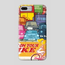 Get On Your Bike - Phone Case by Peter Drawgood