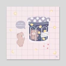 Bear Jam - Acrylic by Tiffany Huynh