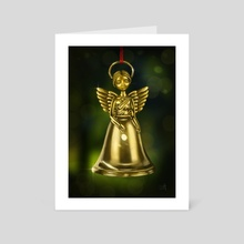 Angel Bell - Art Card by Eda Herz