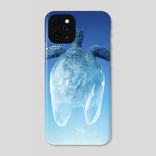 Turtle Bag - Phone Case by Justin Peters