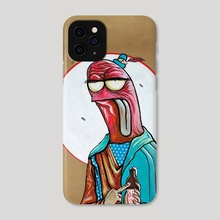 St. Ploid the Wurst, Patron Saint of the Befuddled, Bewildered, & Exhausted - Phone Case by Ben Moss
