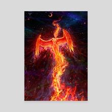 FIreborn - Canvas by Christos Karapanos