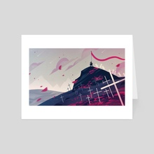 Marching On - Art Card by Bri Neumann