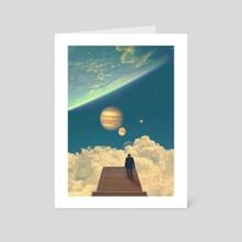 Stairway to Heaven - Art Card by Nicebleed
