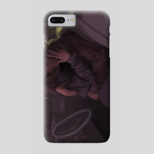 Carol & Therese Midnight stop off - Phone Case by Harriet Moulton