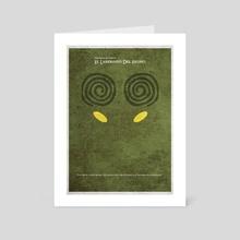 Pan's Labyrinth 2 - Art Card by Deniz Akerman