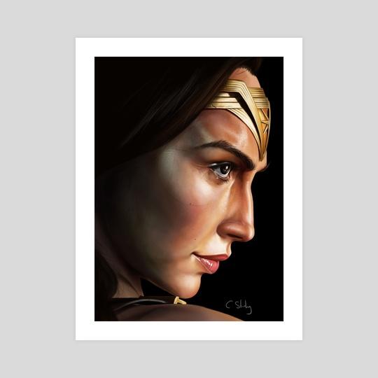 Gal Gadot Wonder Woman by Craig Stirling