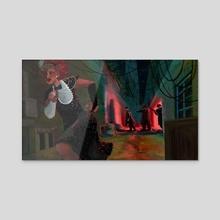 The Escape - Acrylic by Grace Bejnarowicz