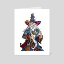Lounge Wizard - Art Card by Tony Etienne