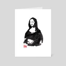 joconde - Art Card by philippe imbert