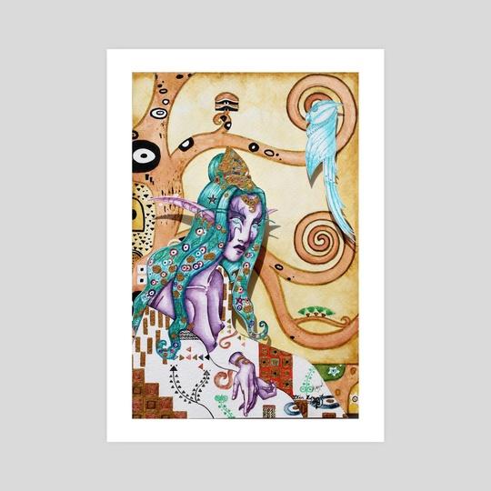 High Priestess of Elune by Elin Lewis