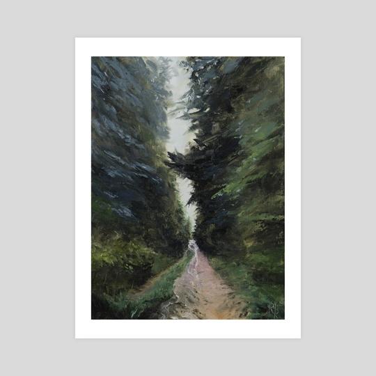 Rainy Path by Reikhard