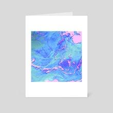 Fiji Beaches - Art Card by Jennifer Walsh