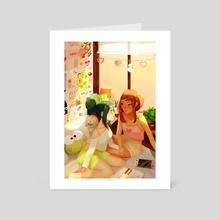 a summers afternoon: tsuchako - Art Card by rosheruuu