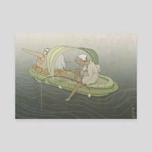 whatever floats your boat - Canvas by shin c.