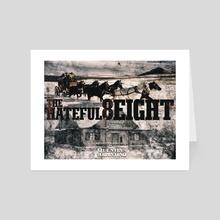 The Hateful Eight - Art Card by Flammen
