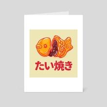 Taiyakii - Art Card by Casandra Ng