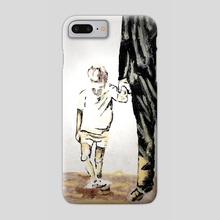 Dependant, not left behind. - Phone Case by HOHLBAUM.ART