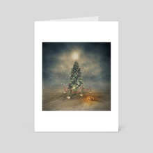 The last Christmas tree - Art Card by Even Liu